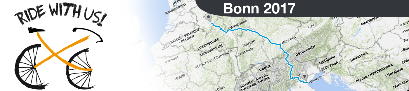 Ride with us - Bonn